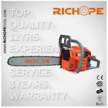 46cc RICHOPE chainsaw for big tree cutting machine with oregon bar and chain