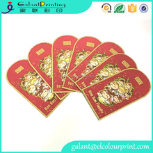 high quality wholesale bulk printing red packets money gift envelope