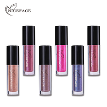 NICEFACE Liquid Lipstick Waterproof 24H Lasting Matte Lip Gloss Nude Make Up Cosmetic Beauty Tools