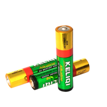 LR03 size AAA AM4 Alkaline Zn-MnO2 1.5V battery
