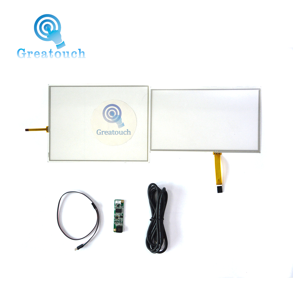 Greatouch 4096x4096 HD resolution 4 wire resistive touch screen panel