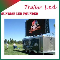Sunrise Advertising vehicle mobile publicity van