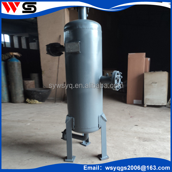 High pressure cyclone powder separator with good performance