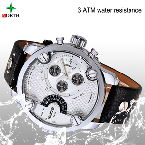 make your own watch classic luxury watch brands Two times calendar display 3atm waterproof