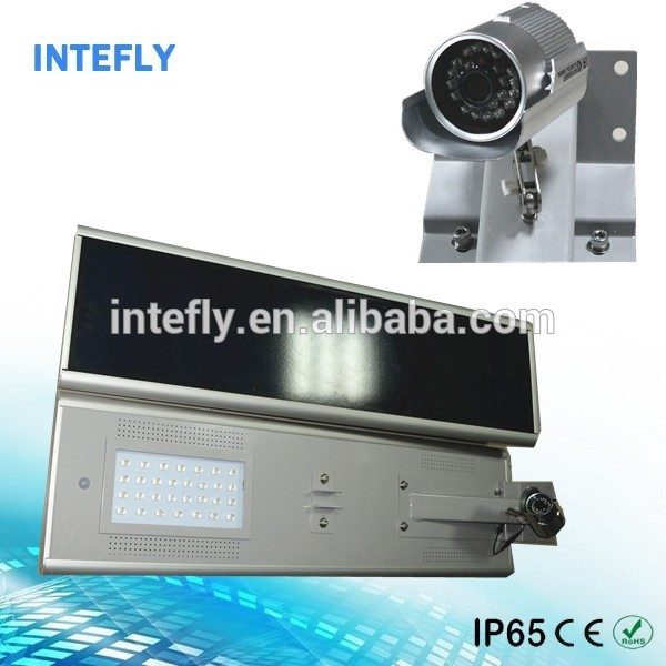 Project use solar led street light all in one outdoor sky laser light antique street light for parking lot