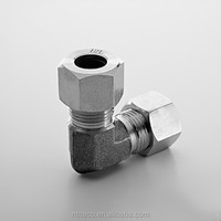 Flat pipe clamp fitting stainless steel 304/316 unoin elbow fitting