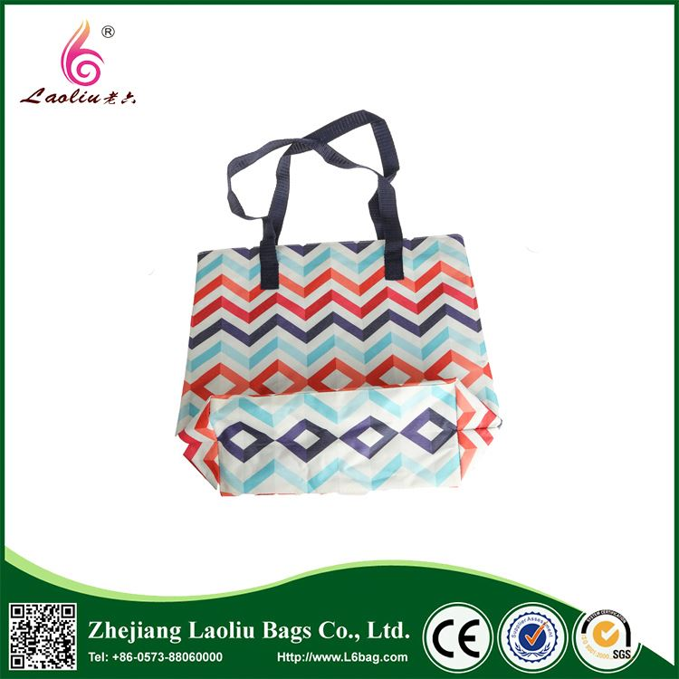 Factory directly sale simple design promotional handbag waterproof oxford tote bag