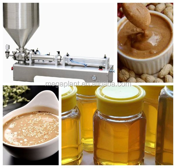 full air filling machine for sauce, balm, paste, cheeze, butter, grease)