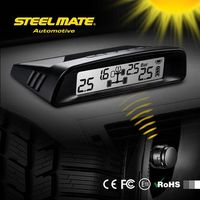 2015 SteelmateTP-S1 solar power tpms high quality tire pressure sensor, tpms tire pressure sensor heavy truck, tire saver