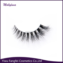 100% mink strip eyelashes real 3D mink lashes