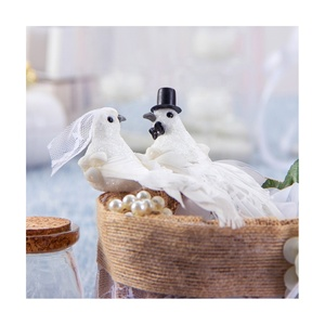 Wholesale new product wedding favor Artificial feather dove