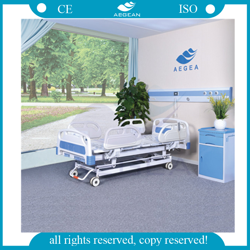 AG-BY104 three functions hospital furniture fowler manual and electrical hospital bed for sale