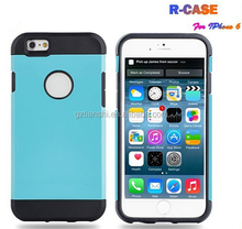 2015 High Quality Colorful PC silicone case for iphone6, for iphone 6, for iphone6 plus