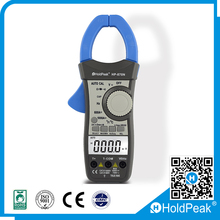 True RMS 1000A Digital Clamp Meter, AC/DC/Resistance/Frequency/Capacitance/Temperature Clamp Multimeter