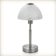 Designer reading desk led light table bedside mushroom glass lamp