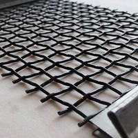 Crimped Wire Mesh For Using In The Mining Friddle Barbecue And Industry