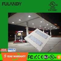 Meanwell power supply CE&RoHS 9000lm 100W gas station led canopy light, Canopy led light,Canopy light for garagen lighting