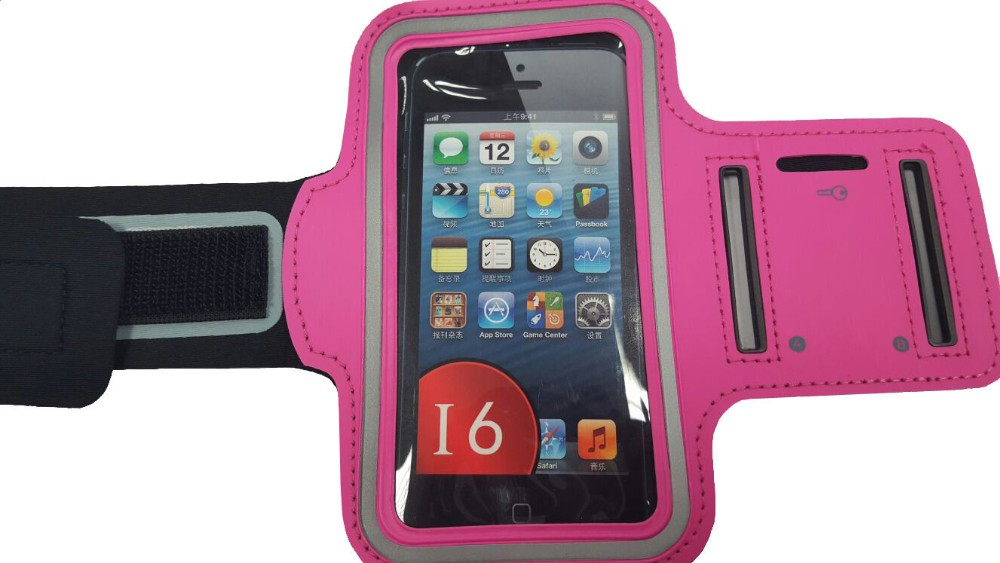 Armband Cellphone as Mobile Phone Bag and Case Armband Size for iPhone 4 or Armband for iPhone 5