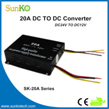 20A power converter for car High Quality switched power supply Good adjustable dc power supply in China CE RoHS Compliant SunKo
