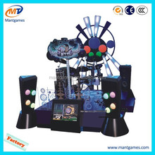 Music arcade game machine and amusement game center equipment
