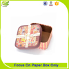Durable professional square celebration candy box for gift