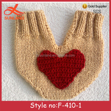 F-410 new design winter knitted couples gloves for winter