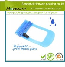 big discount mobile phone pvc waterproof bag