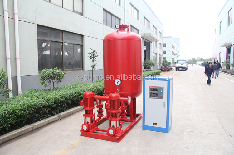 QKY Firefighter Water Pump for Water Supply Fire Fighting Pump Set