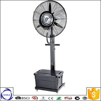 "Factory selling outdoor 26""/30"" 110v/220v industrial water mist fan"