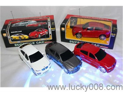 1 24 scale r c car simulation car 2ch rc car toys with neon lights