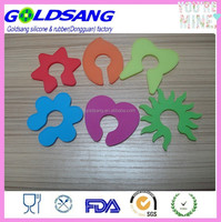 NEW Wine Glass Colorful Silicone Clips