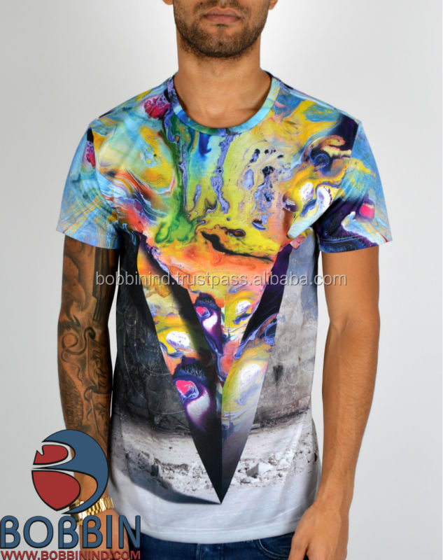 custom sublimation men t shirt korea design, Men's Sport T-shirt with Sublimation, Sublimated T-shirts Ontario Canada