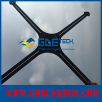 GDE Custom carbon fiber construction material According To Drawings