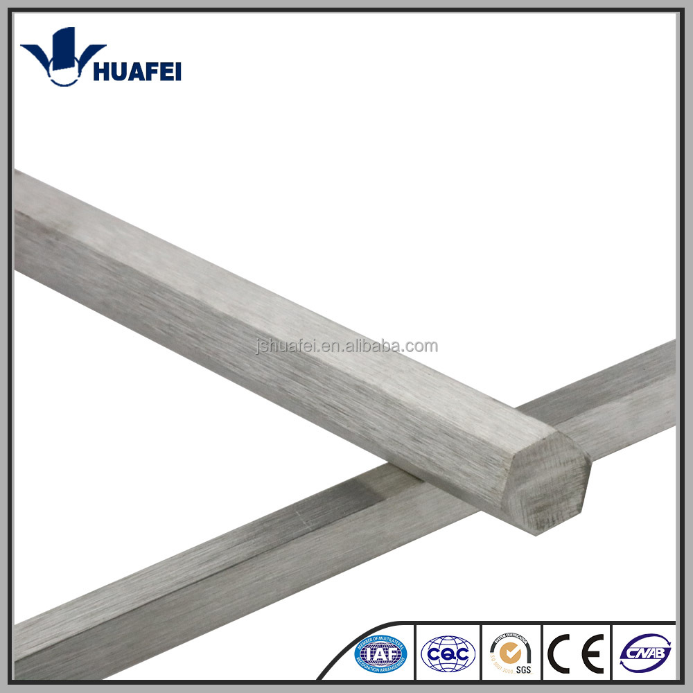 Heat treated available stainless steel hexagon bar