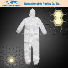 2017 New Product Disposable Microporous SF Waterproof Dustproof Anti-static Coverall