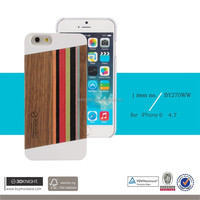 3D Knight white pc bumper case for iphone 6 wooden case