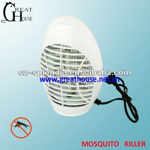 Environmental electronic mosquito killer with uv LED lamp