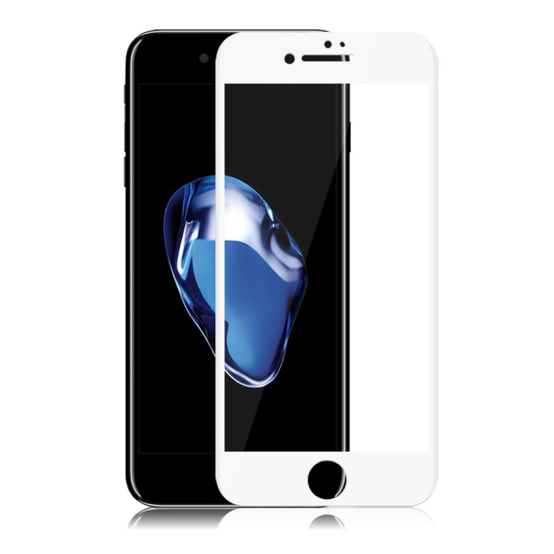 New arrival for iphone 7 3D hot bending Tempered Glass Screen Protector