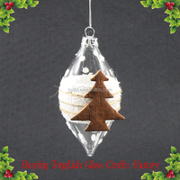 Christmas Decoration Supplies Glass Crafts Wholesale