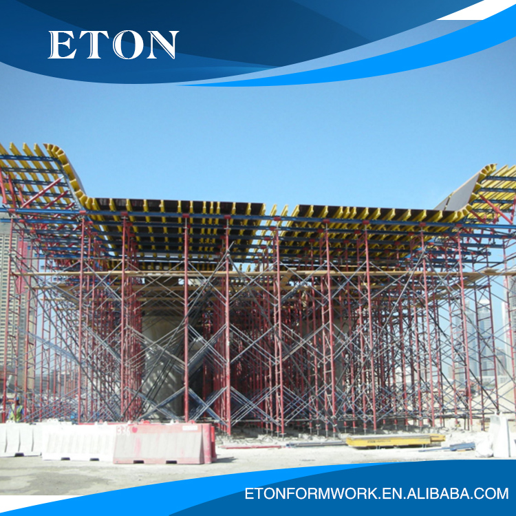 Long - term supply of construction panel steel formwork system quick - release template