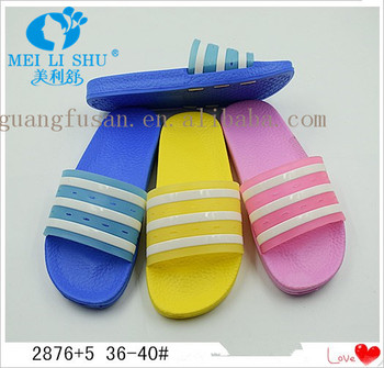 Hot Sale Ladies EVA Outsole Materials Shoes Slippers
