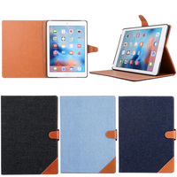 New Arrvial Cowboy Magnetic Triangle Buckle Cover for Ipad Air ,for Ipad Air 2 Smart Cover