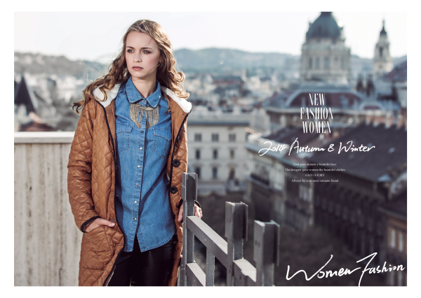 Glo-story 2015 women fashion autumn jacket