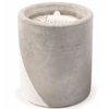 Soy Wax Candle In Concrete Pot