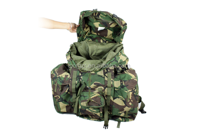 Camouflage Army Military Large Alice Pack Backpack Iron Metal Frame Backpack