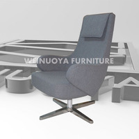 Customized Contemporary sofa, Fabric Finishing, Fiberglass Frame, Suitable for Sitting Room, designer furniture
