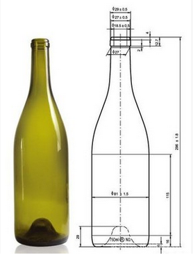 yellow glass wine bottle