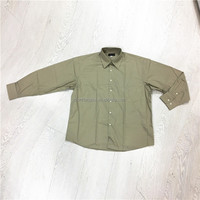 100% cotton good quality police security military shirt