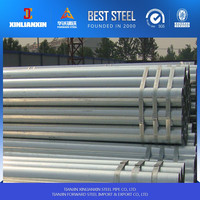 59*1.8mm fence post pre galvanized round steel pipe