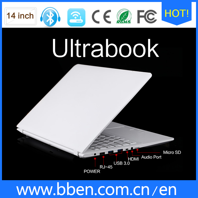 buy cheap laptops in china 14inch promotional laptops 3G notebook computer